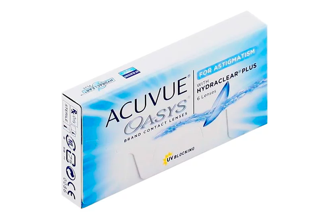 Контактные линзы Johnson & Johnson Acuvue Oasys For Astigmatism (6)