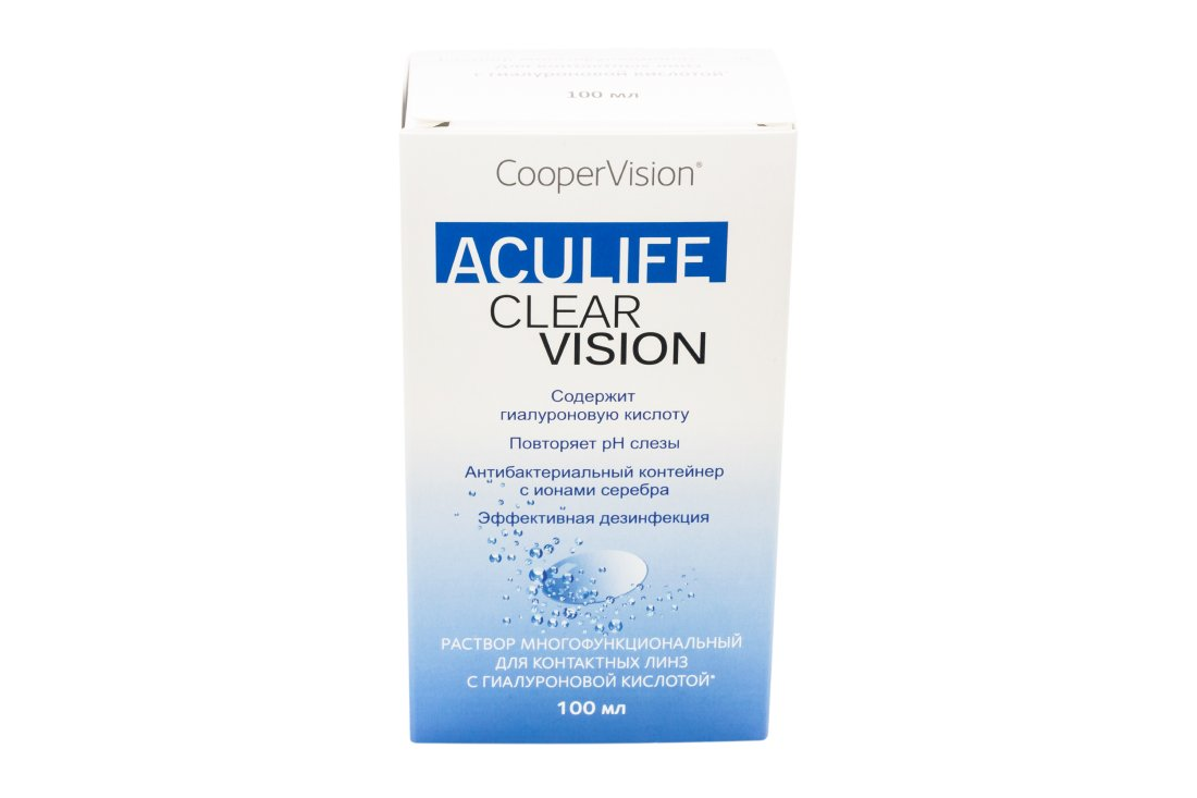 Раствор ACULIFE Clear Vision 100  мл New!